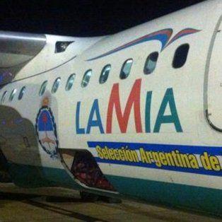 la seleccion argentina viajo en el mismo avion del accidente hace 18 dias