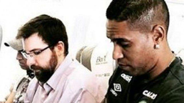 Chapecoense: el premonitorio último mensaje del capitán del equipo desde el avión