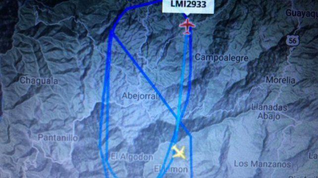 Accidente de Chapecoense: el momento en el que el radar pierde el rastro del avión