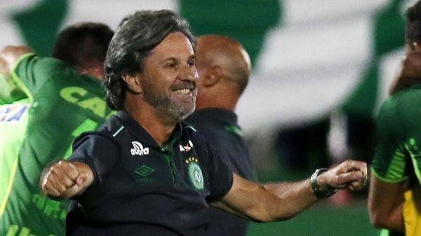 La escalofriante frase del entrenador de Chapecoense tras clasificar para la final