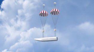 Un avión que promete terminar para siempre con las muertes por accidente