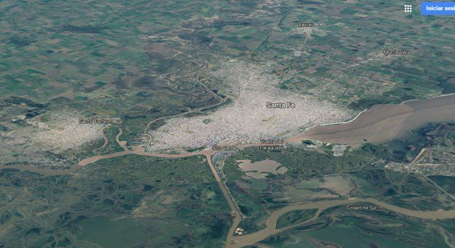 Un mapa interactivo muestra como creció Santa Fe en los últimos 32 años en medio minuto