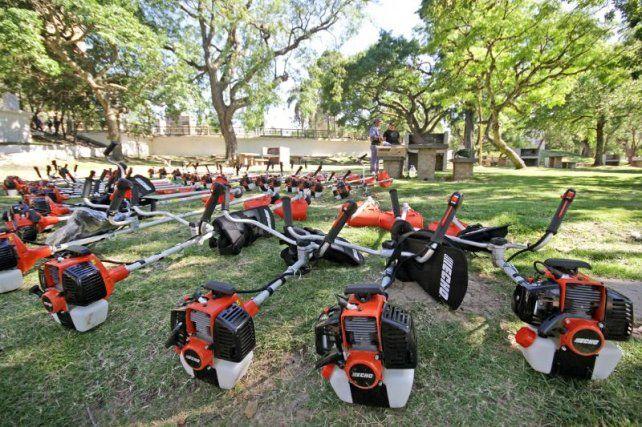 El Municipio incorporó equipamiento para el mantenimiento de playas y parques
