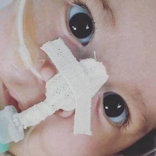el dramatico pedido de los padres de aquiles, el bebe con atrofia muscular espinal