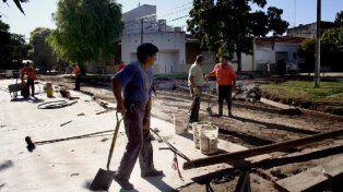 Programa de Reconstrucción: trabajos de bacheo previstos para el miércoles