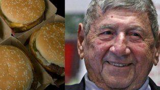 Muere Michael Jim Delligatti, el inventor del Big Mac