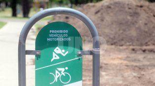 El Parque Federal tendrá su primera pista de salud