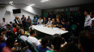 Denuncian presiones de la Confederación Brasileña al Chapecoense