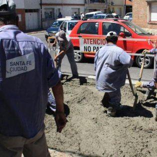 finalizan los trabajos de repavimentacion en calle san jeronimo