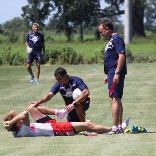 Los ejercicios de elongación, por la dolencia que tuvo Palmera Sánchez, son claves en la recuperación.