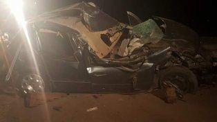 Dos hombres murieron en un choque en la ruta 94 en Santa Isabel