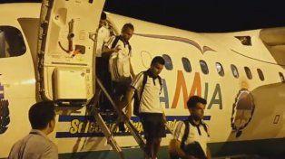 el avion de lamia que llevo a la seleccion a brasil estuvo a 18 minutos de caerse