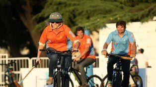Celebridades y polistas disfrutaron delPolo Bike Chandon en el Campo Argentino de Polo