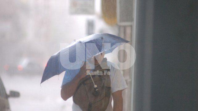 Rige un alerta por precipitaciones intensas para la ciudad de Santa Fe