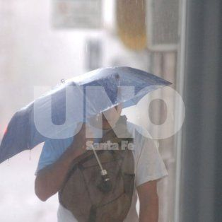 continua el alerta por lluvias y tormentas para la ciudad de santa fe
