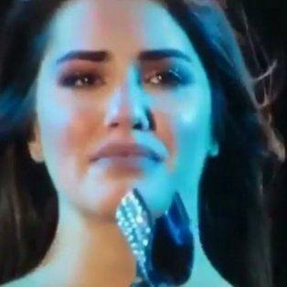 finalizo su gira internacional llorando
