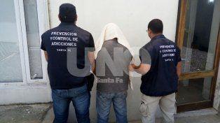 detuvieron a un lider narco de alto verde