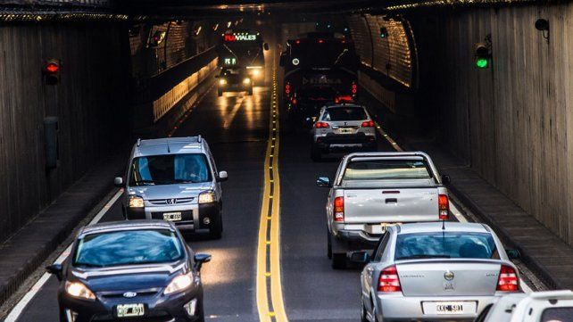 Récord en el Túnel Subfluvial: más de 46.000 vehículos transitaron durante el fin de semana