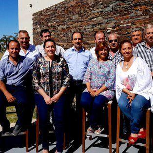 En Santa Fe. Los intendentes y presidentes comunales se reunieron en la ciudad.