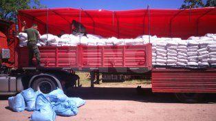 gendarmeria secuestro mercaderia por $500.000 de contrabando