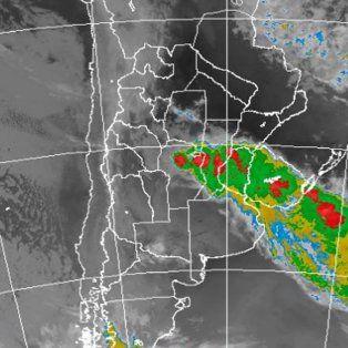 alerta a corto plazo por tormentas fuertes con lluvias intensas para santa fe