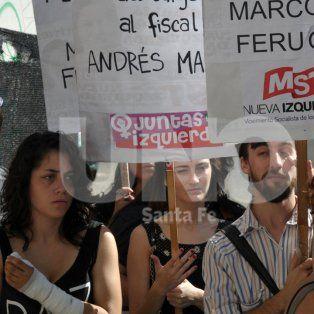 romina tambien pidio justicia frente a tribunales durante la audiencia del asesino de su familia