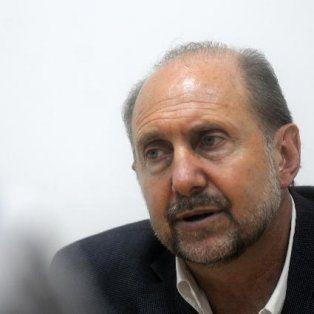 El legislador se mostró crítico con el gobierno provincial y también con Nación.