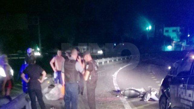 Murió un motociclista en la avenida de circunvalación oeste de Santa Fe