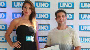 Nicolás Bruzzone. El jugador de Universitario de Santa Fe participó en los Juegos Olímpicos en la disciplina de seven.