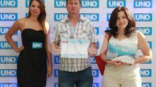 Ariel Burela. El estudiante integró el equipo que obtuvo el primer lugar en la Olimpíada Nacional de Construcciones.