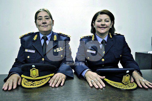 Mónica Viviani y Stella Núñez. Dejaron atrás los estereotipos
