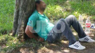 El hombre fue detenido luego de intentar coimear a los oficiales y de que se verificara que se movilizaba en un vehículo robado
