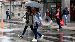 Continúa vigente un alerta por tormentas fuertes para toda la provincia