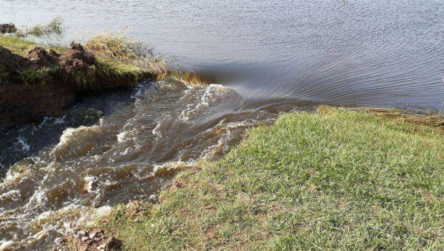 Las precipitaciones dejaron varias rutas cortadas en Santa Fe