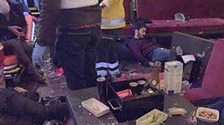 Las impactantes imágenes del interior de la discoteca de Estambul tras la masacre de Año Nuevo