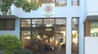 La Comisaría de la ciudad de Mrteros.