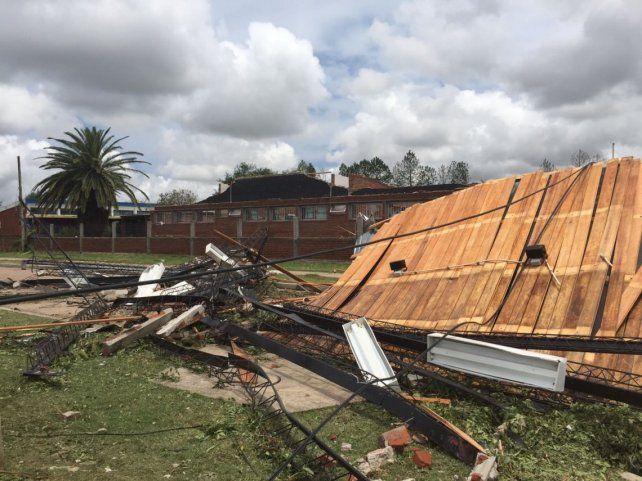 Temporal deja 17 heridos en Uruguay