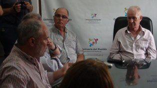 Trabajadores del Puerto se reunieron con Lamberto