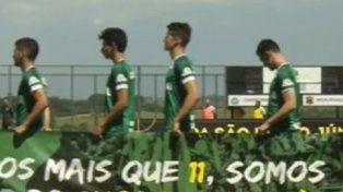 Emocionante: Chapecoense jugó su primer partido tras la tragedia aérea