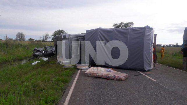 Murió un joven tras un choque frontal en la ruta 70 a la altura de Nuevo Torino