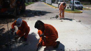 Programa de Reconstrucción: trabajos de bacheo para este jueves