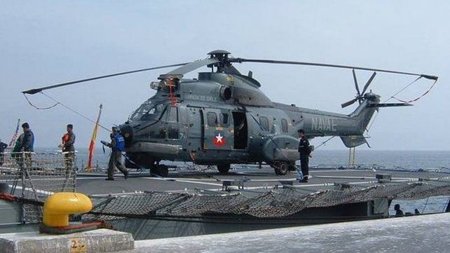 Publican asombroso video de un ovni grabado por militares chilenos desde un helicóptero
