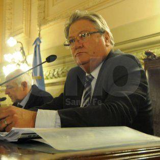 El vicegoberndor de Santa Fe, Carlos Fascendini.