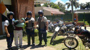 Detuvieron a dos violentos delincuentes que recibieron a los tiros a la policía