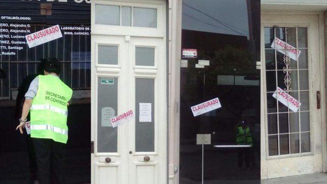 El Municipio clausuró 3 clínicas y un geriátrico por mala disposición de residuos patológicos