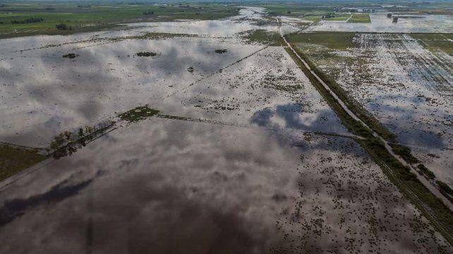 Por las lluvias, la provincia ya habla de pérdidas millonarias