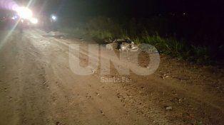 Un motociclista murió al ser embestido por el conductor de una camioneta