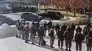 El video del ataque con un camión en Jerusalén que dejó varios muertos
