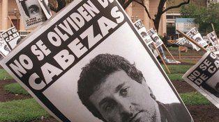 Le otorgaron la libertad condicional al asesino de Cabezas