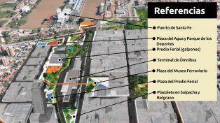 Un proyecto que busca mejorar el entorno a la estación de ómnibus